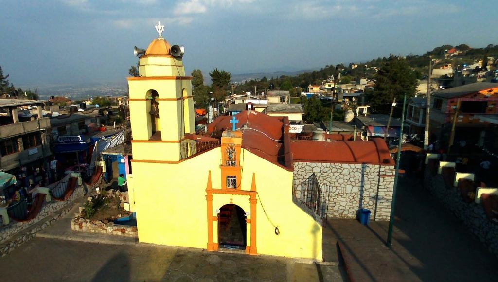 Iglesia de San Miguel Xicalco