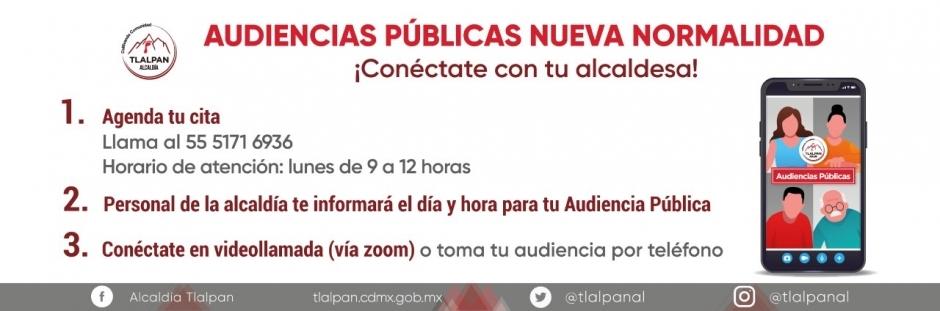 Audiencias públicas nueva normalidad