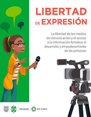 La libertade expresión fortalece los derechos humanos