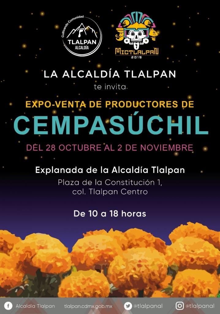Expoventa Xempasuchil Tlalpan