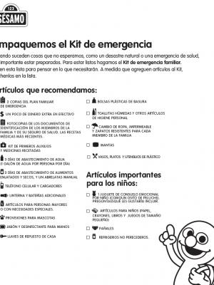recomendaciones COVID-19 Plaza Sésamo