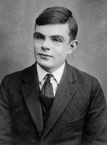 Fotografía de Alan Turing