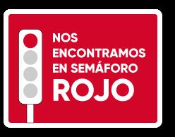 imagen de semaforo rojo