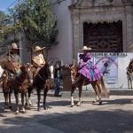 Evento con Caballos en el Barrio de Niño Jesús