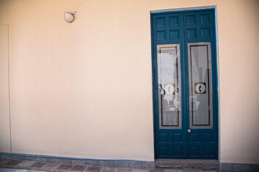 Puertas del museo de Historia de Tlalpan