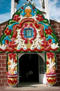 Fachada de Iglesia en Parres El Guarda