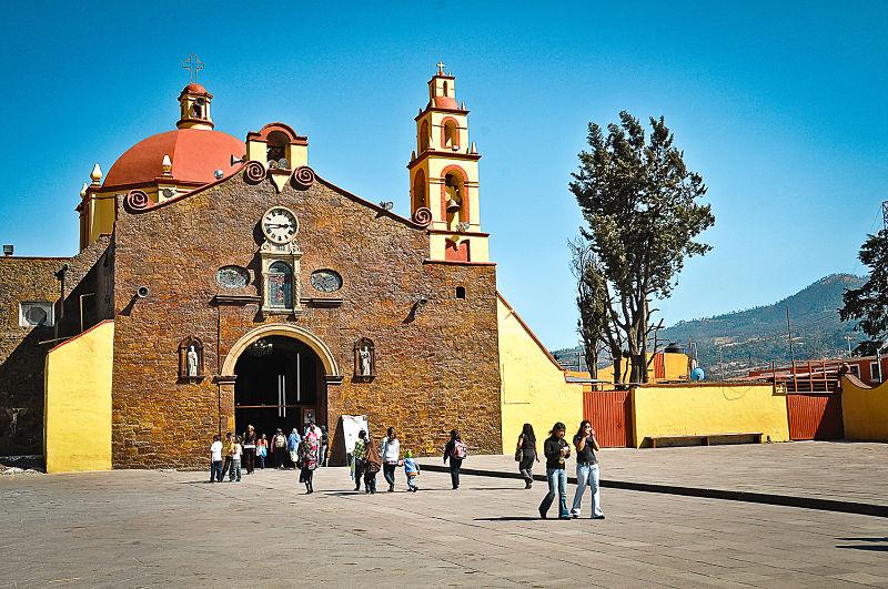 Iglesia de San Miguel Topilejo