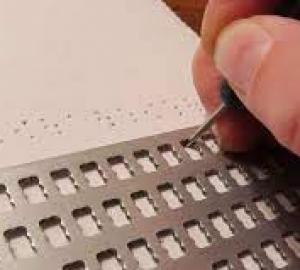 cursos de escritura braile